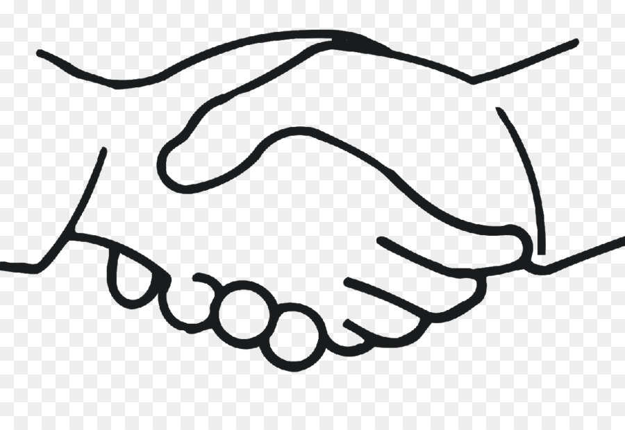 Black and white handshake clipart jpg royalty free library Black Line Background png download - 1136*761 - Free Transparent ... jpg royalty free library
