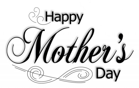 Black and white happy mother s day clipart greetings free stock Mothers day mother\'day 7 greeting pictures and photos clip art ... free stock