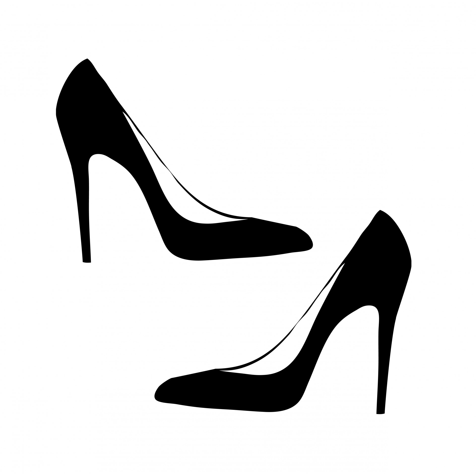 Woman shoes clipart