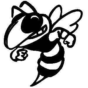 Black and white hornet clipart png free library Hornet clipart free images 2 - WikiClipArt png free library