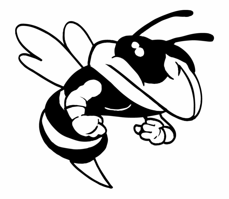 Black and white hornet clipart library Ar5 Bee 03 Rq - Black And White Hornet Clipart Free PNG Images ... library