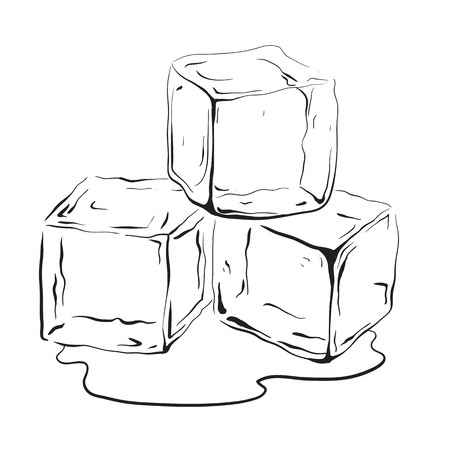 Black and white ice cube clipart royalty free library Ice cube clipart black and white 3 » Clipart Station royalty free library