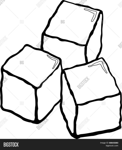 Black and white ice cube clipart library Ice Cube Clipart Black And White | Free Images at Clker.com - vector ... library
