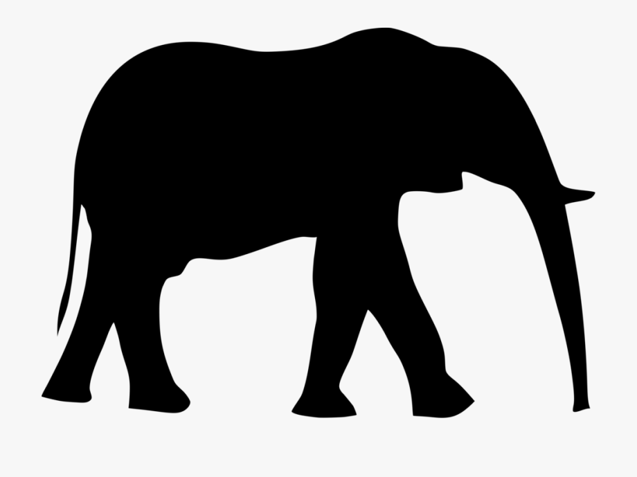 Black and white indian painted elephant clipart royalty free library Acalephans Clipart Two Elephant - Elephant Clip Art #117505 - Free ... royalty free library