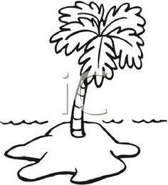 Black and white island clipart vector black and white download Island Clip Art Black And White | Clipart Panda - Free Clipart Images vector black and white download