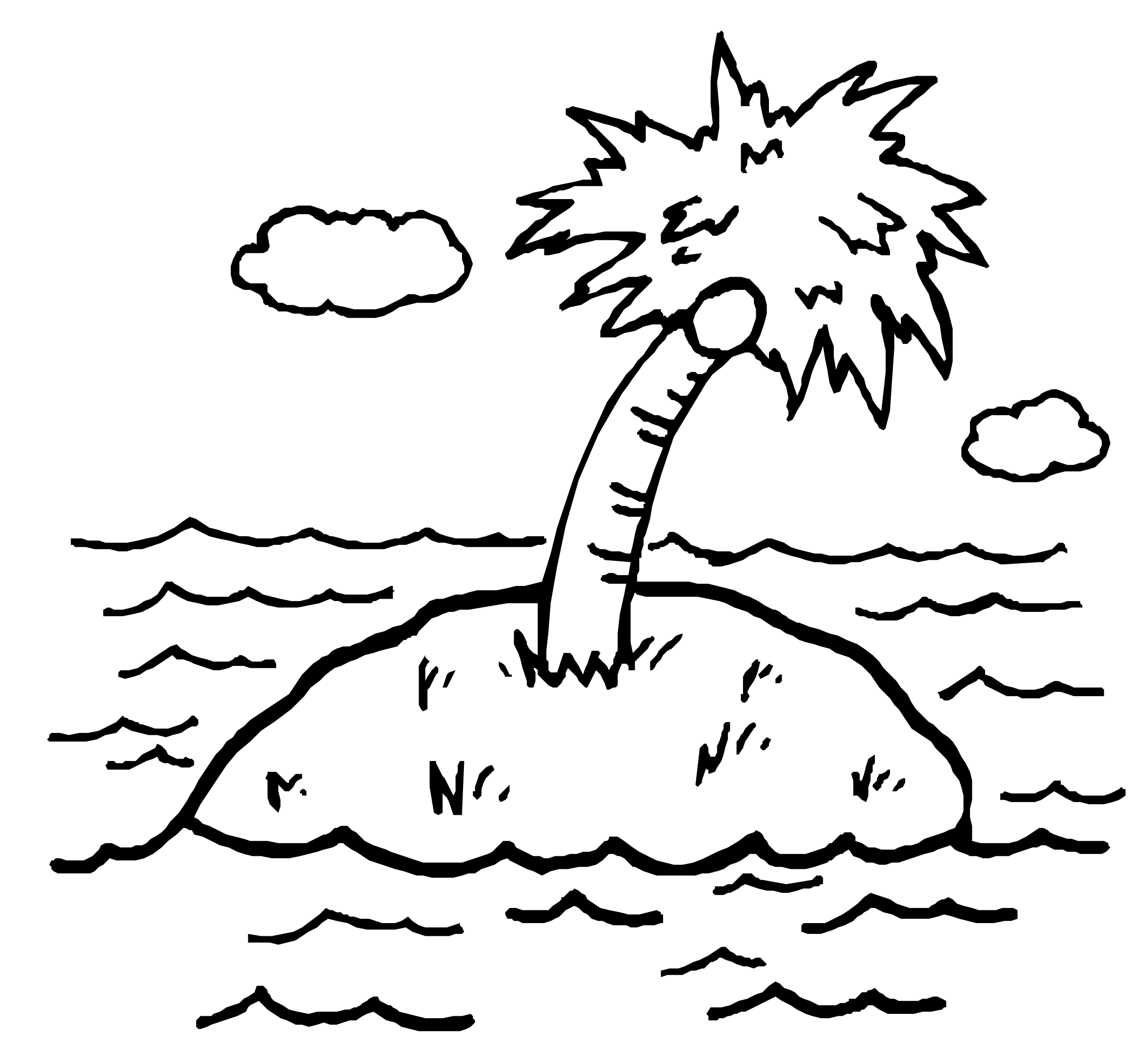 Black and white island clipart picture transparent download Island Clipart Black And White 1 » Clip #133964 - PNG Images - PNGio picture transparent download