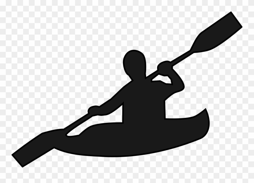 Black and white kayak clipart clip art library Kayak Clipart Black And White - Png Download (#846601) - PinClipart clip art library