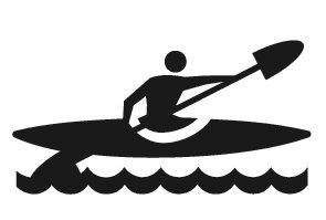 Black and white kayak clipart clip transparent Free Kayak Clipart Black And White, Download Free Clip Art, Free ... clip transparent