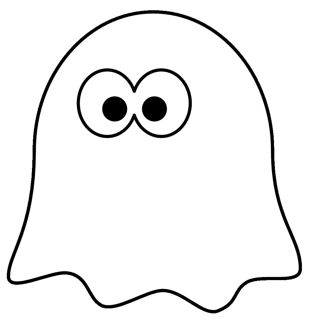 Black and white kids halloween clipart banner stock clipartist.net   Clip Art   Ghost Black White Art Art Halloween ... banner stock