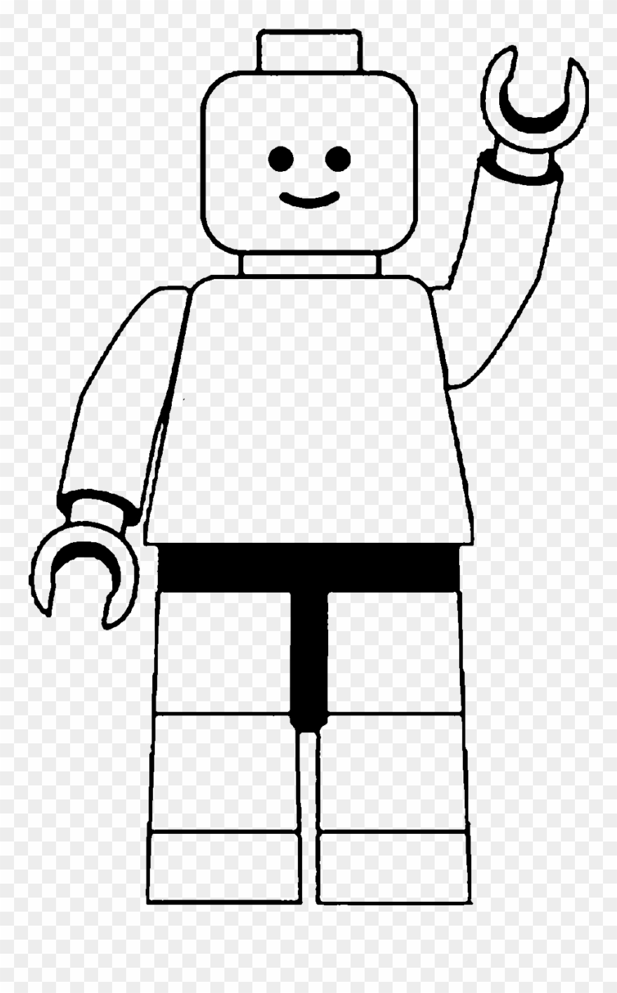 Legos clipart black and white clip art library stock Lego Man Clip Art Black And White - Lego Clipart Black And White ... clip art library stock