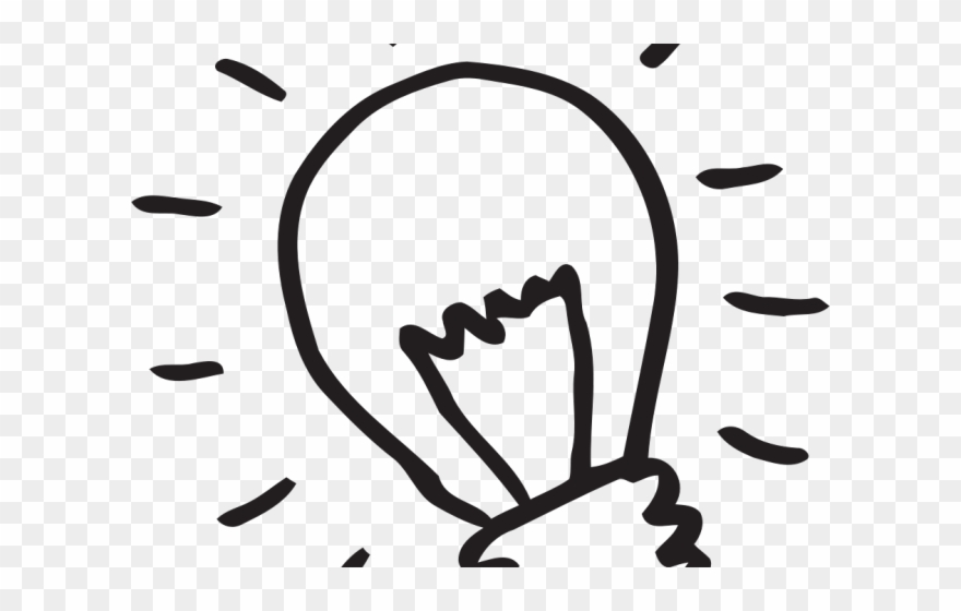 Black and white lighting clipart png freeuse library Bulb Clipart Glow - Black And White Light Bulb Clipart Png ... png freeuse library