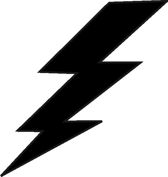 Black and white lightning bolt clipart jpg black and white library Lightning Bolt Clipart Black And White | Clipart Panda - Free ... jpg black and white library