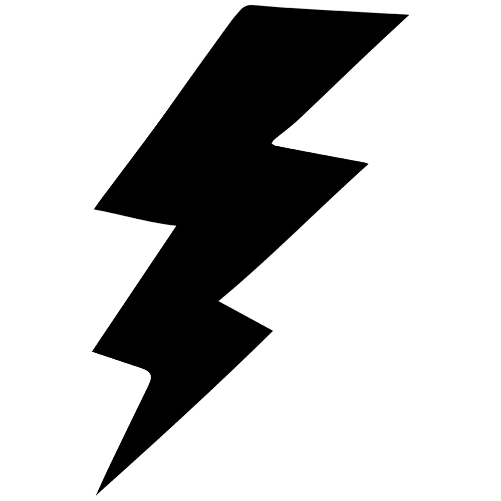 Black and white lightning bolt clipart clipart royalty free library Black And White Lightning Bolt | Free download best Black And White ... clipart royalty free library