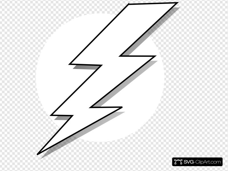 Black and white lightning clipart clip royalty free Black And White Lightning Bolt Clip art, Icon and SVG - SVG Clipart clip royalty free