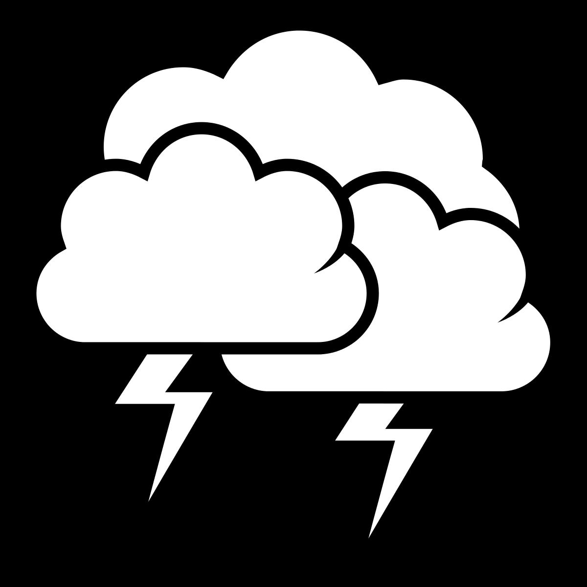 Lightning clipart black and white image Lightning clipart black and white 4 » Clipart Station image