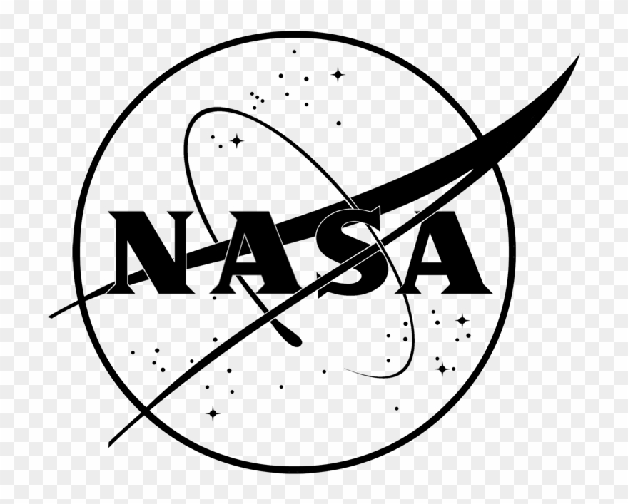 Black and white logo clipart clip art royalty free Nasa Logo Font - Nasa Black And White Clipart (#713438) - PinClipart clip art royalty free