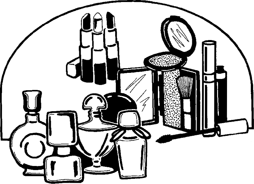 Black and white makeup clipart png black and white stock Makeup Black And White Png & Free Makeup Black And White.png ... png black and white stock