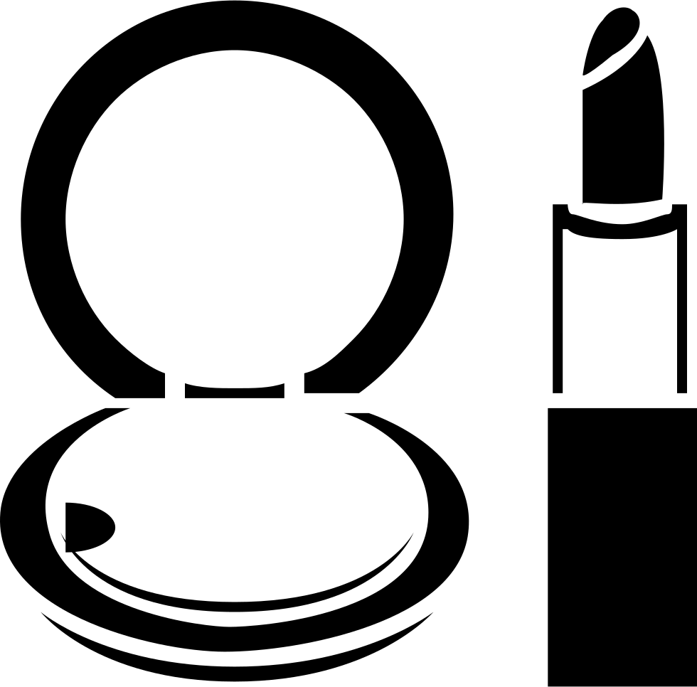 Black and white makeup clipart svg black and white library Makeup Clipart Black And White (93+ images in Collection) Page 3 svg black and white library