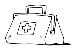 Black and white medical bag clipart free picture freeuse Free Doctor Bag Cliparts, Download Free Clip Art, Free Clip Art on ... picture freeuse