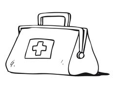 Black and white medical bag clipart free svg royalty free download Free Doctor Bag Cliparts, Download Free Clip Art, Free Clip Art on ... svg royalty free download