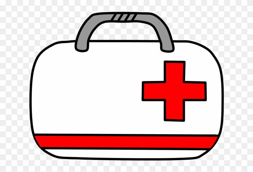 Black medical bag with red cross clipart png freeuse download Medical Kit, Doctor\'s Bag - Medical Bag Clipart (#2147776) - PinClipart png freeuse download