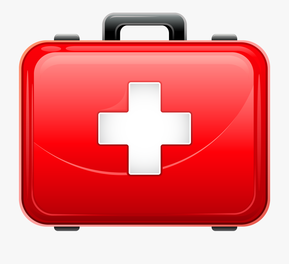 Black medical bag with red cross clipart clipart library download Clip Art Freeuse Top Medical Bag Photos - First Aid Box With ... clipart library download