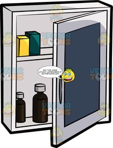 Black and white medicine cabinet clipart free transparent library A Medicine Cabinet transparent library
