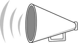 Black and white megaphone clipart vector transparent stock Free Megaphone Cliparts, Download Free Clip Art, Free Clip Art on ... vector transparent stock