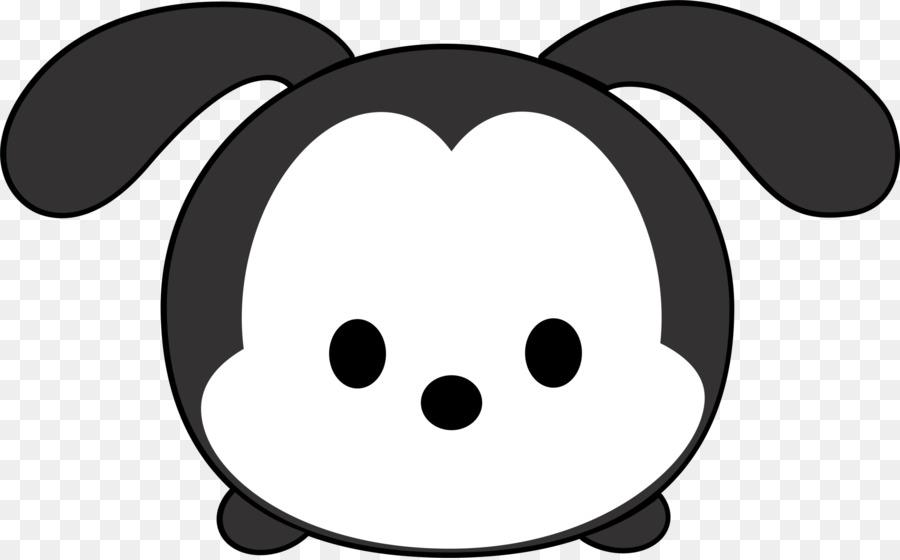 Black and white mickey tsum tsum clipart image transparent Disney Tsum Tsum Diagram Clip Art - Nine #140662 - PNG Images - PNGio image transparent