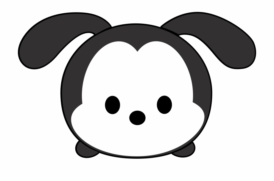 Black and white mickey tsum tsum clipart graphic royalty free download Stock Main Disney Characters Clip Black And White Download - Disney ... graphic royalty free download