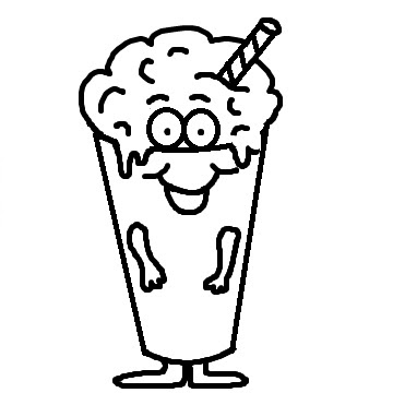 Black and white milkshake clipart picture royalty free library Collection of Milkshake clipart | Free download best Milkshake ... picture royalty free library