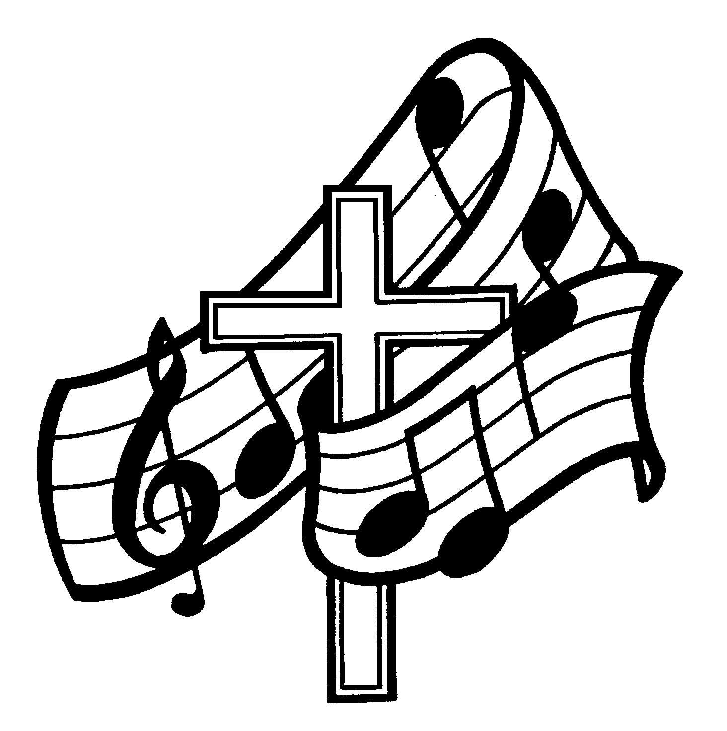 Church singing clipart svg library christian choir room | Music Ministry Page | Northlake Baptist ... svg library