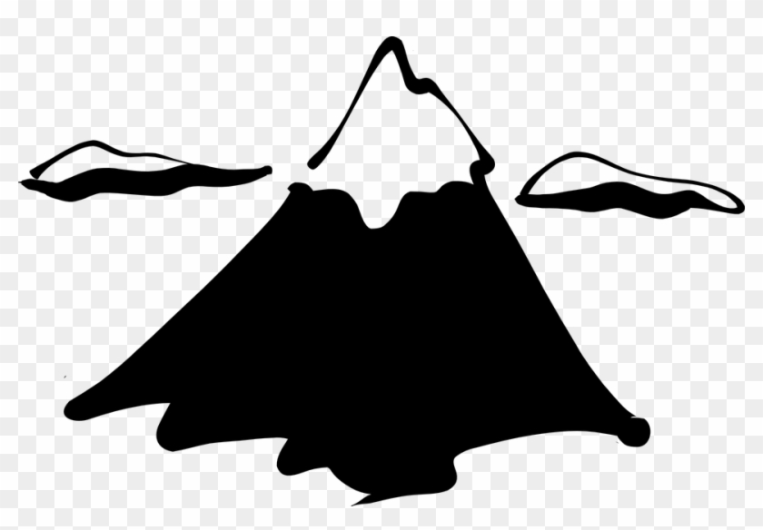 Black and white mountains clipart colorado line drawing clip library download Black And White Mountain Sketch at PaintingValley.com | Explore ... clip library download