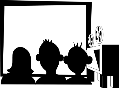 Black and white movie screen clipart png svg black and white Movie theater clipart black and white dayasriod top image #30951 svg black and white