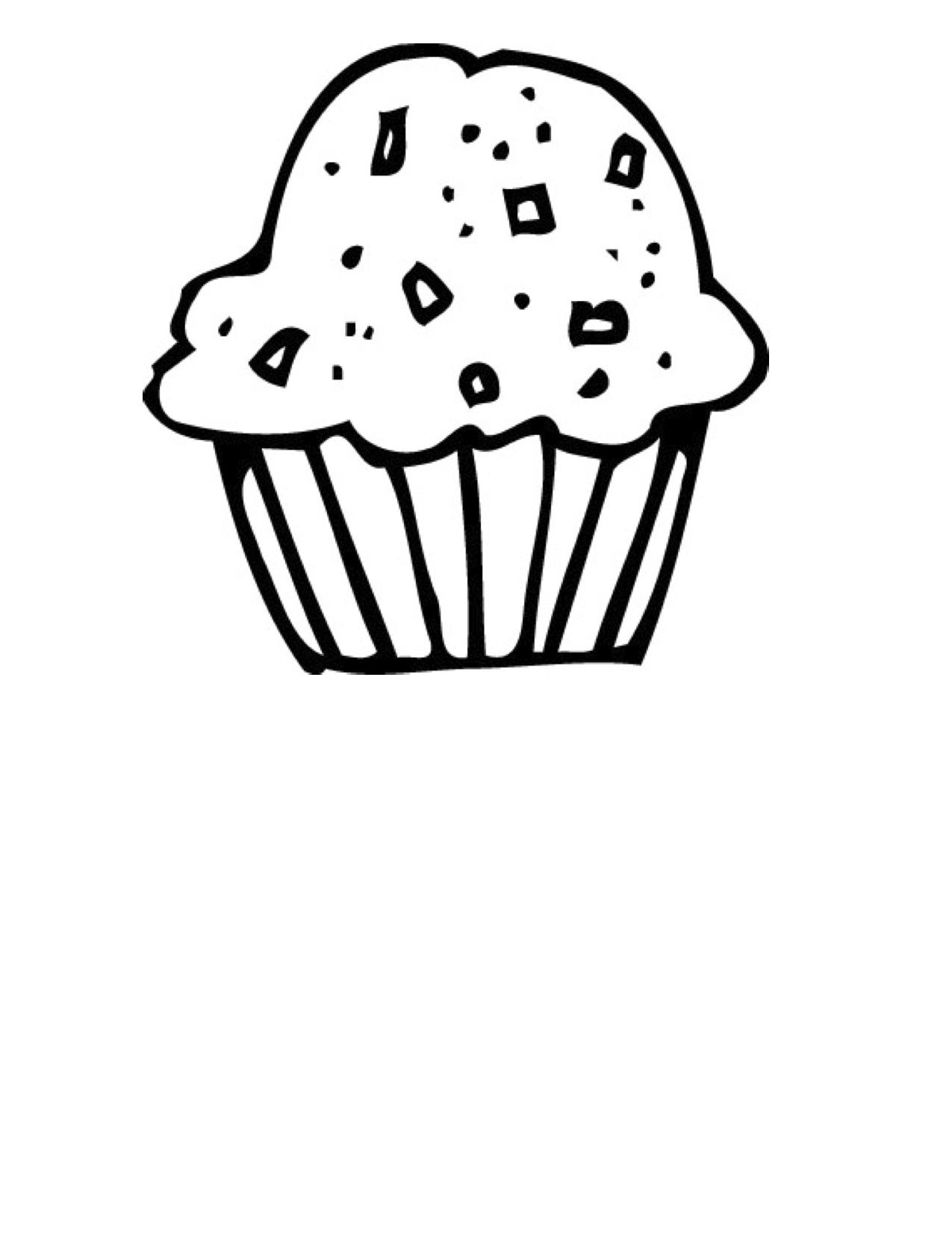 Black and white muffin clipart clip art black and white library Muffin clipart black and white 3 » Clipart Station clip art black and white library