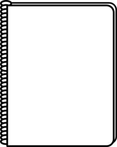 Black and white notebook inside cover clipart svg transparent stock Free Blank Notebook Cliparts, Download Free Clip Art, Free Clip Art ... svg transparent stock