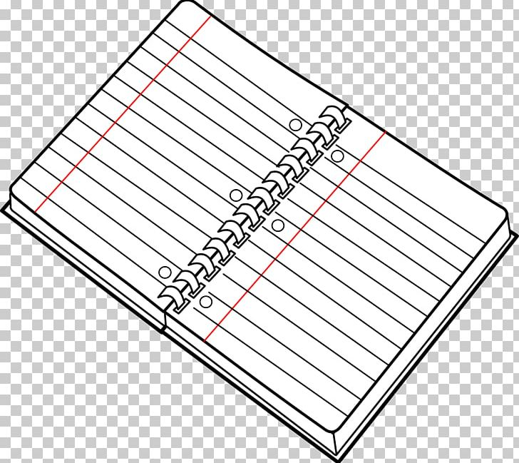 White notebook clipart png library Notebook Paper Black And White PNG, Clipart, Angle, Area, Black And ... png library