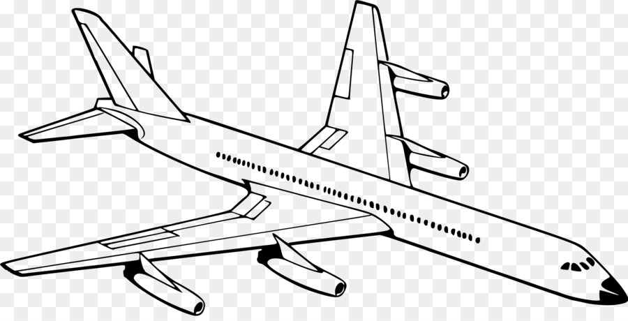 Black and white old fashioned airplane drawing clipart clipart royalty free stock Airplane Drawing png download - 2400*1207 - Free Transparent ... clipart royalty free stock