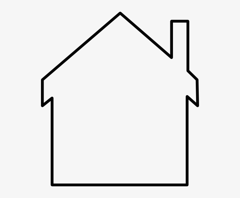 Outline of a house image white clipart png clip art free House Outline Clipart Black And White - Clip Art - Free Transparent ... clip art free