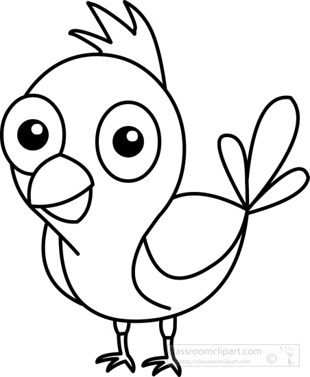 Cute animal clipart black and white picture library Free black and white animals outline clipart clip art pictures ... picture library
