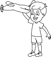 Black and white outline clipart playing children svg stock Free Black and White Children Outline Clipart - Clip Art Pictures ... svg stock