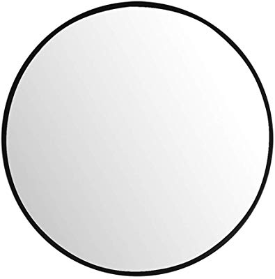 Black and white oval shaped mirror clipart clip art library stock Amazon.com: Uttermost Mayfair Matte Black 34\