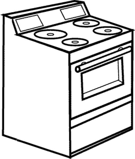 Black and white oven clipart clip free library Stove Clip Art Black And White - Falcones clip free library