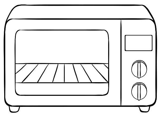 Black and white oven clipart vector download Oven clipart black and white 1 » Clipart Portal vector download