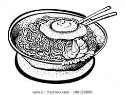 Black and white pasta clipart picture for dinner option clipart royalty free Image result for noodle clipart black and white | 10,000 Cranes ... clipart royalty free