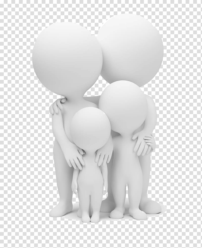 Black and white person pushing another person illustration clipart vector black and white download Family-themed illustration, Family 3D computer graphics Illustration ... vector black and white download