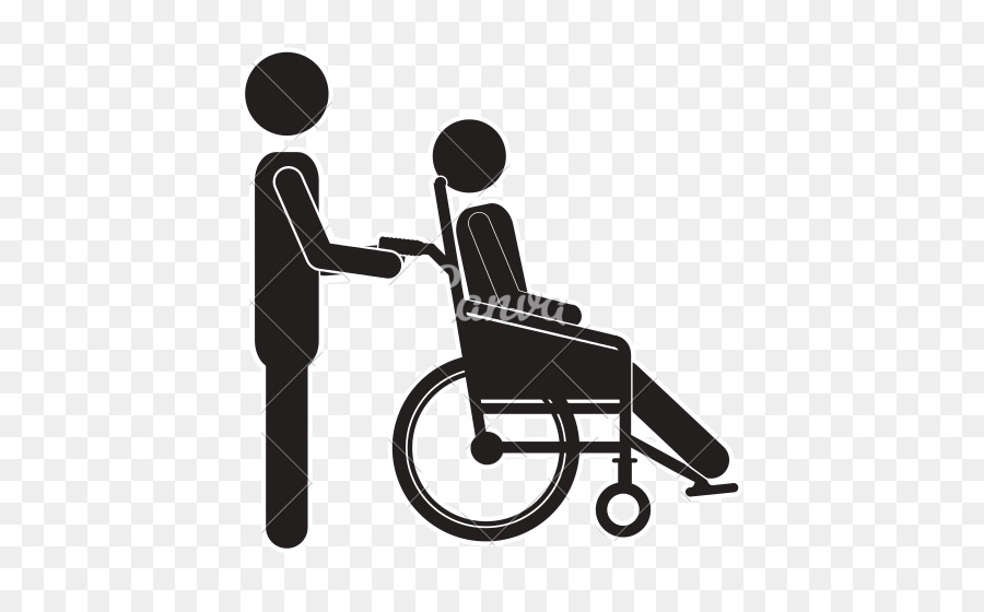 Black and white person pushing another person illustration clipart vector royalty free Person Cartoon clipart - Illustration, Product, Chair, transparent ... vector royalty free
