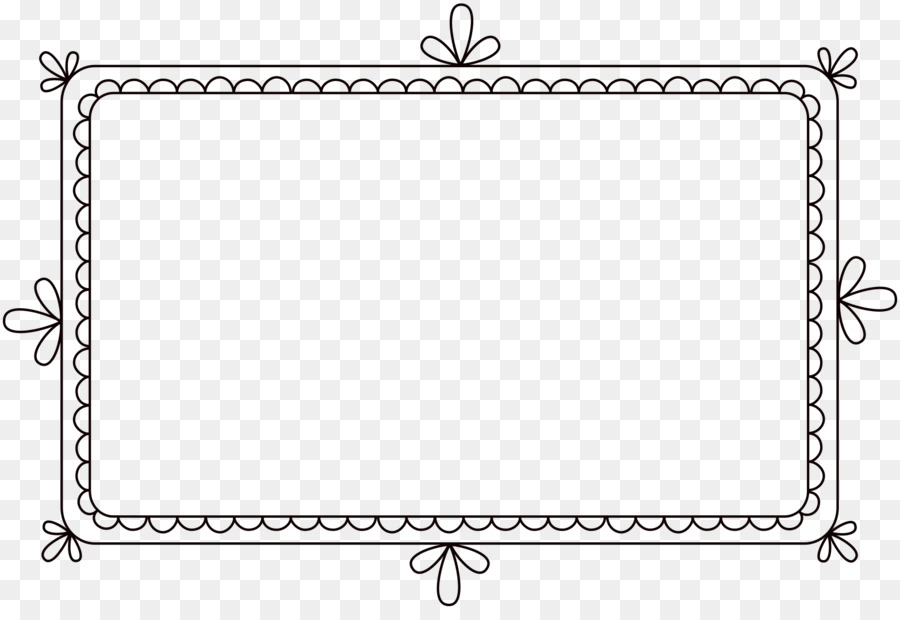 Black and white picture frame clipart svg free stock Black And White Frame clipart - Rectangle, Border, Circle ... svg free stock