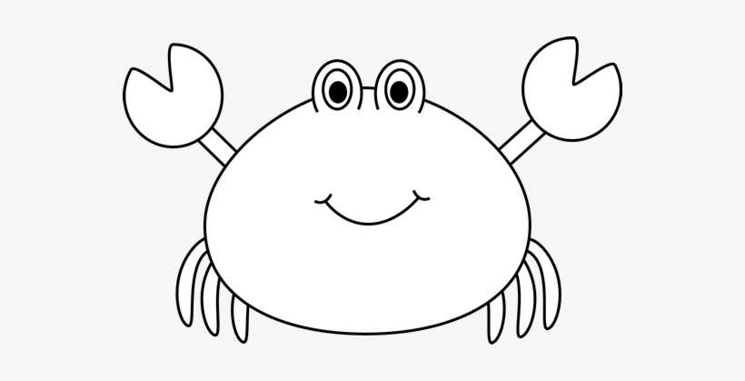 Black and white picture of crab clipart png png transparent Black And White Crab Clip Art - Cute Crab Clipart Black And White ... png transparent