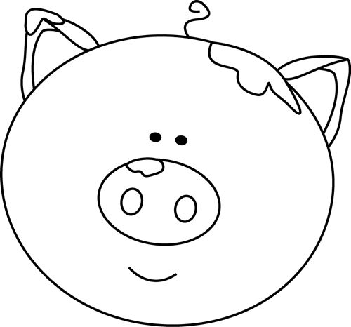 Pig face clipart black and white clip royalty free download Free Pig In Mud Clipart, Download Free Clip Art, Free Clip Art on ... clip royalty free download